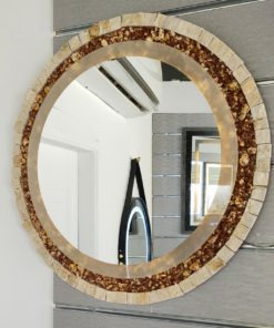 Mirror with Light Marble